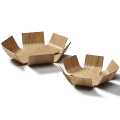 Medium Oak Lily Bowl by BEdesign - Made Modern - 3