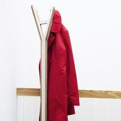 A Coat Stand in White by ByALEX - Made Modern - 2
