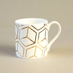 Gold Cube Mug by Alfred & Wilde - Made Modern - 1