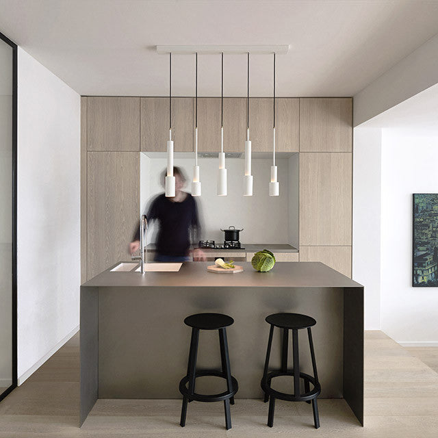Skylight Pendant in White by Frederik Roijé - Made Modern - 5