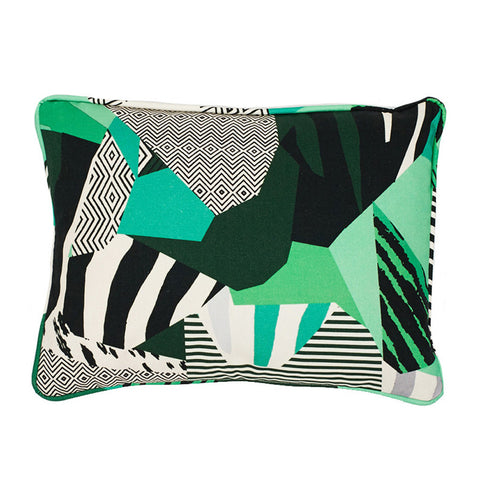 Rousseau Green Cushion by Kitty McCall - Made Modern