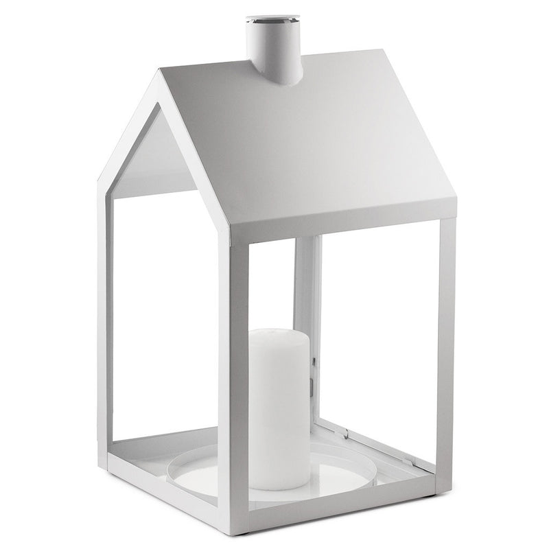 Lighthouse Lantern in White by Normann Copenhagen - Made Modern - 1