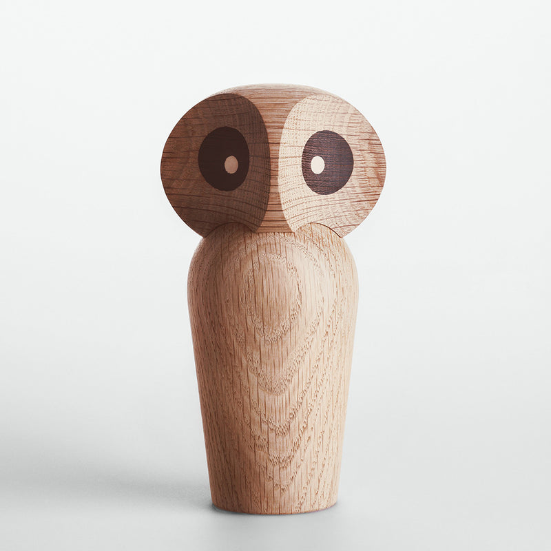 Owl in Natural Oak by ArchitectMade - Made Modern