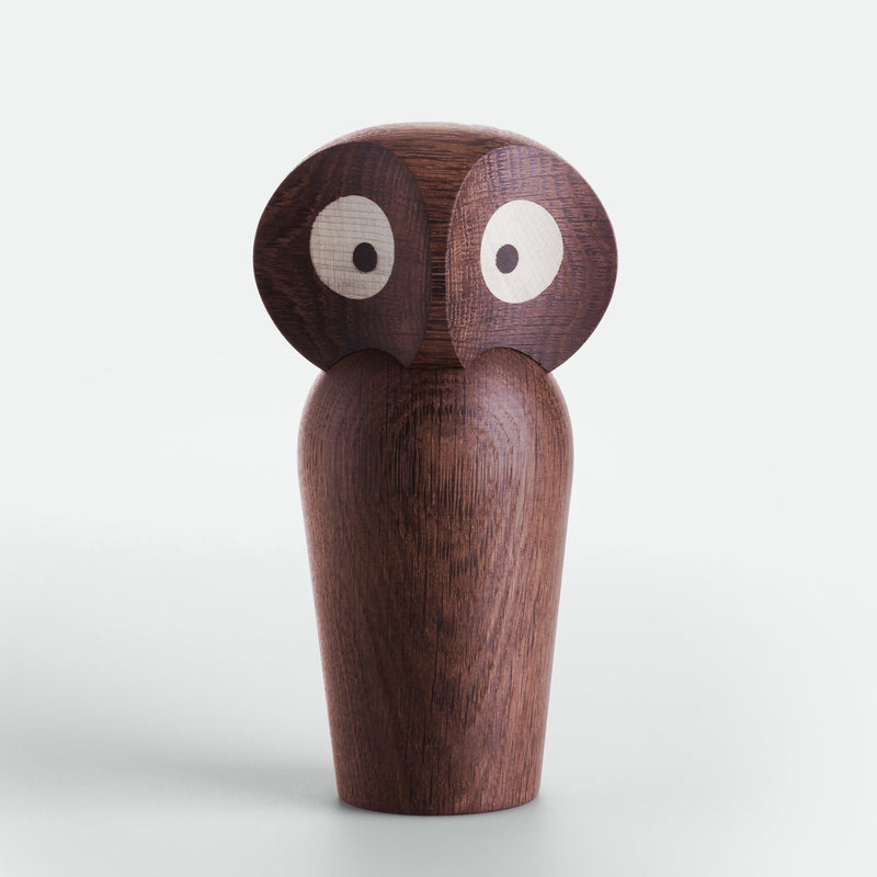 Owl in Smoked Oak by ArchitectMade - Made Modern