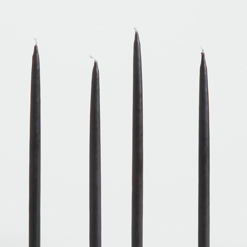 Gemini Candles in Black by ArchitectMade - Made Modern - 1