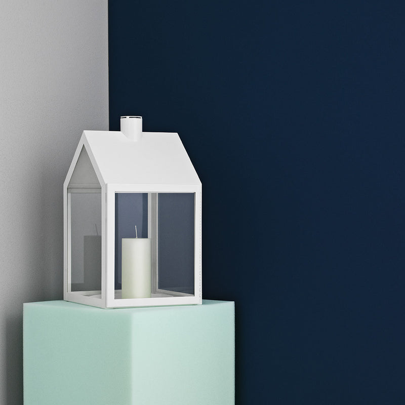 Lighthouse Lantern in White by Normann Copenhagen - Made Modern - 3