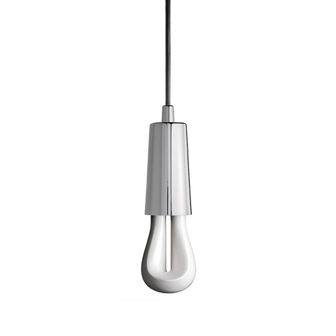 Drop Cap Pendant in Chrome by Plumen - Made Modern - 1