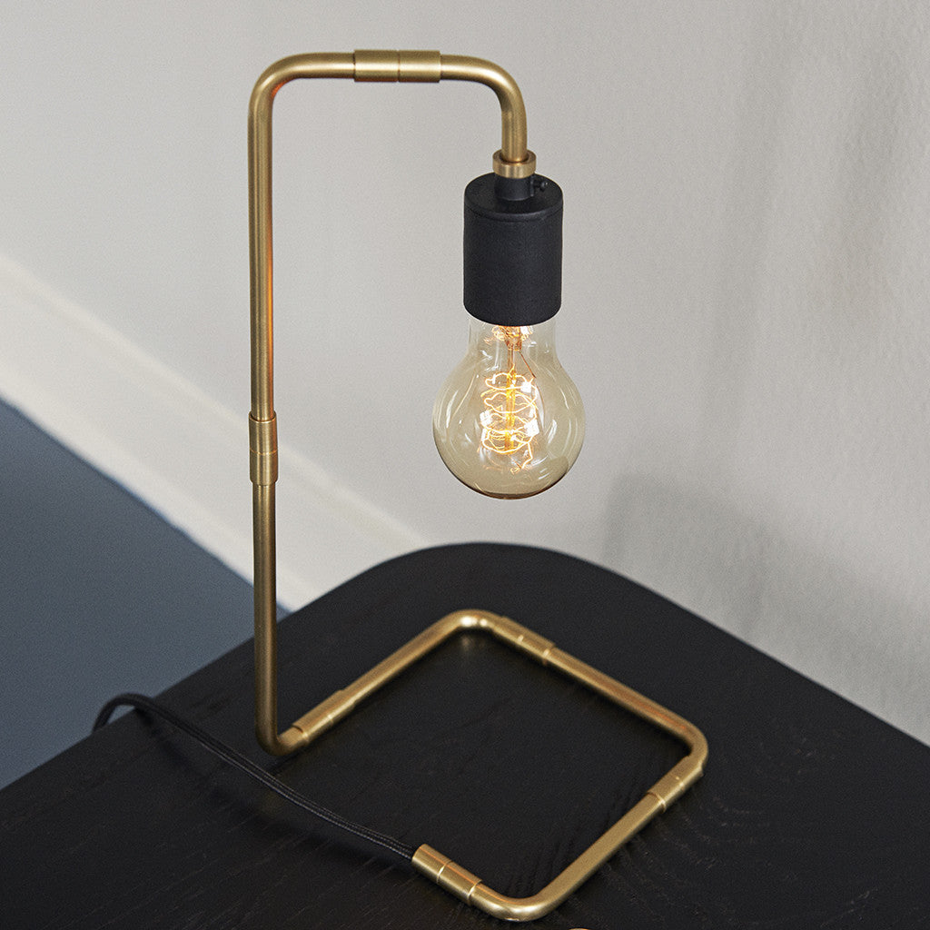 Tribeca Reade Table Light in Brass by Menu - Made Modern - 2