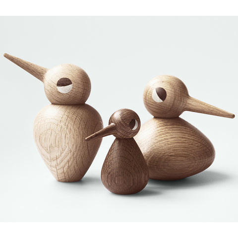 Small Bird in Smoked Oak by ArchitectMade - Made Modern - 2