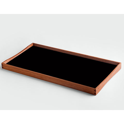 Small Turning Tray in Black and Red by ArchitectMade - Made Modern - 2