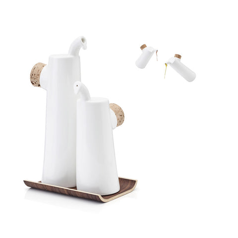 Nokka Oil and Vinegar Bottles by Tonfisk - Made Modern