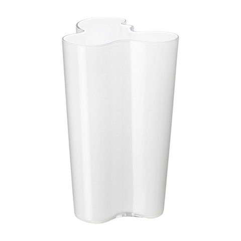 251mm Vase in White by Iittala - Made Modern