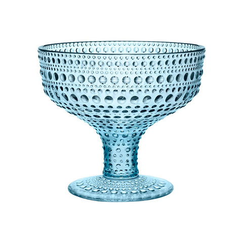 Kastehelmi Bowl in Light Blue by Iittala - Made Modern