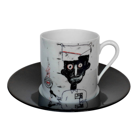 Jean-Michel Basquiat Espresso Cup by Ligne Blanche Paris - Set of two cups - Made Modern