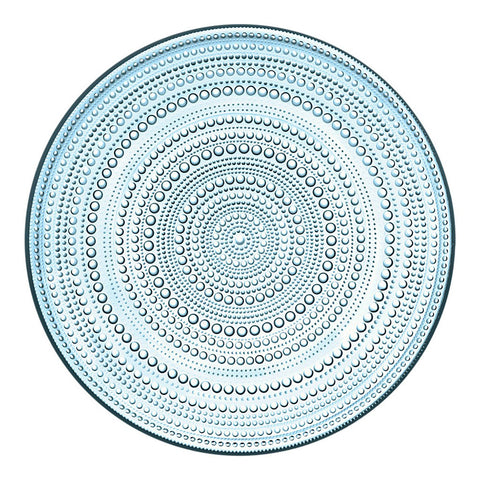 Large Kastehelmi Plate in Light Blue by Iittala - Made Modern
