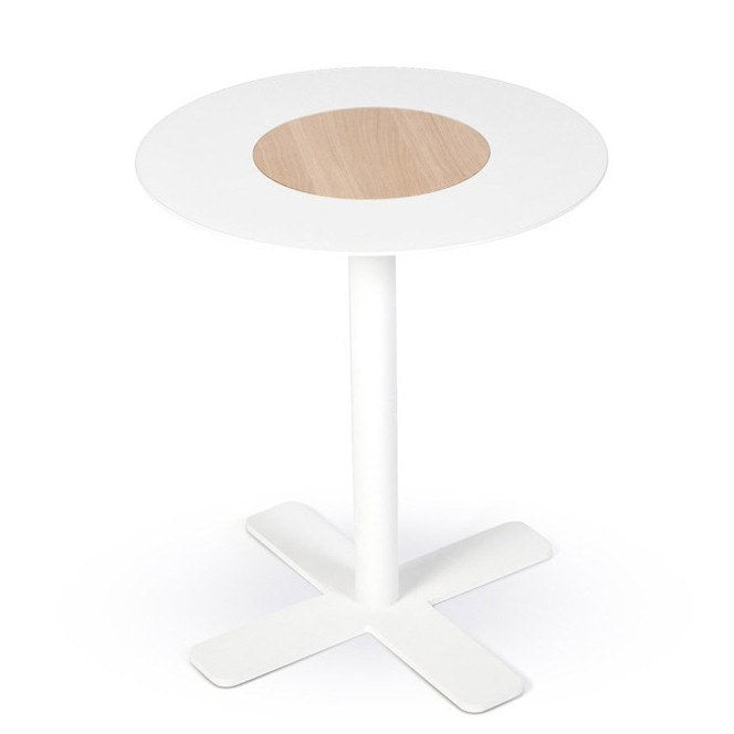 Blush Side Table in White by Spell - Made Modern - 1