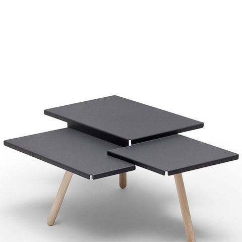 Tablefields Table in Dark Grey by Frederik Roijé - Made Modern - 1