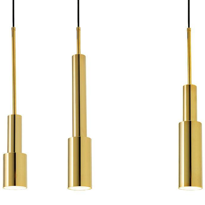 Skylight Pendant in Gold by Frederik Roijé - Made Modern - 3