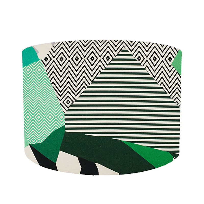 Rousseau Green Lampshade by Kitty McCall - Made Modern - 1