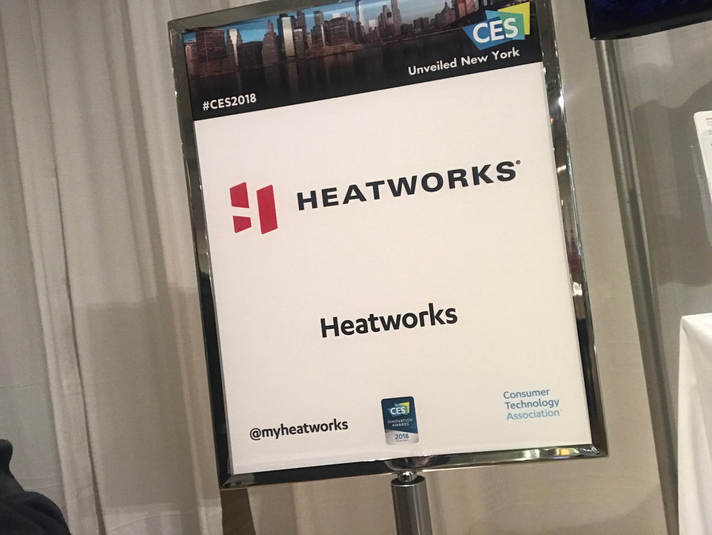 Heatworks Named a 2018 CES Innovation Product Award Honoree