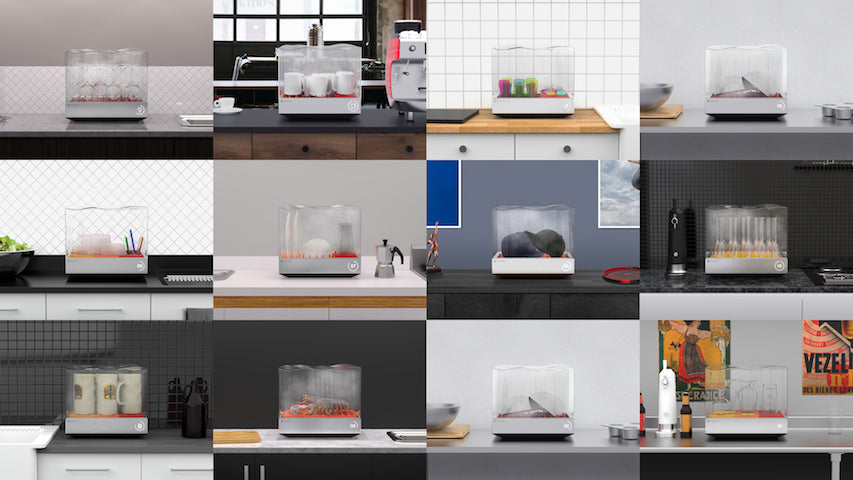 Heatworks' Tetra Countertop Dishwasher Wins Home Appliance Top Prize at CES 2019