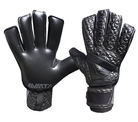 Aviata Viper Carbon Fibre V7 Goalkeeper Gloves JUNIOR