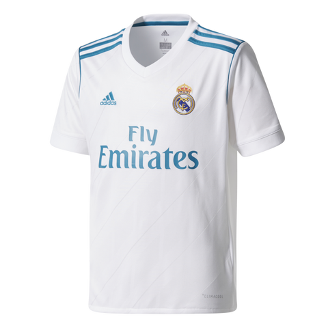 766a4d00682 adidas Real Madrid Home Jersey Youth 2018 – Aggressive Soccer