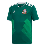adidas Mexico Home Youth Jersey 2018