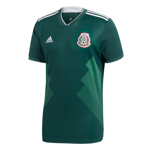 adidas Mexico 2018 Home Jersey