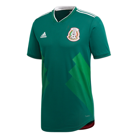 adidas Mexico 2018 Authentic Home Jersey