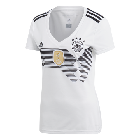 adidas Germany Womens 2018 Home Jersey