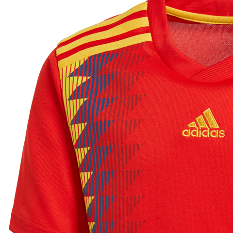 best sneakers ed84f 3289f ... adidas Spain Home Youth Jersey 2018 ...