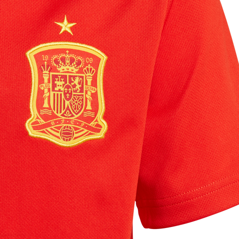 f0786c9bf6c adidas Spain Home Youth Jersey 2018 – Aggressive Soccer