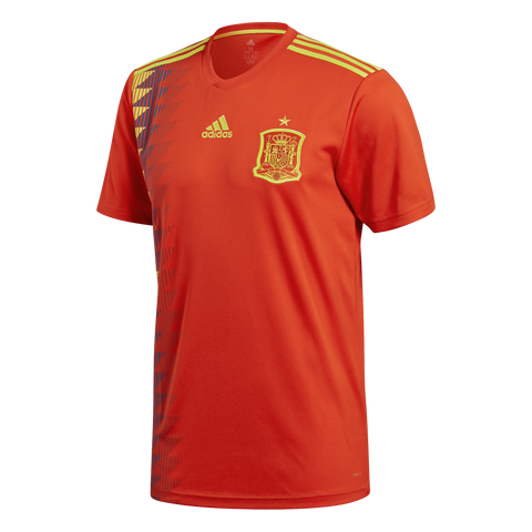 adidas Spain 2018 Home Jersey
