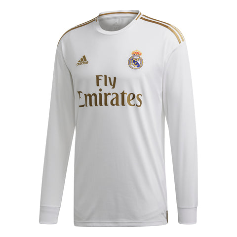 adidas Real Madrid Home Longsleeve Jersey 2020