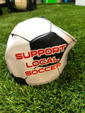 Soccer Ball support local soccer face mask adult/teen ball design durable and washable