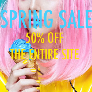 This week only....50% off spring!!!!