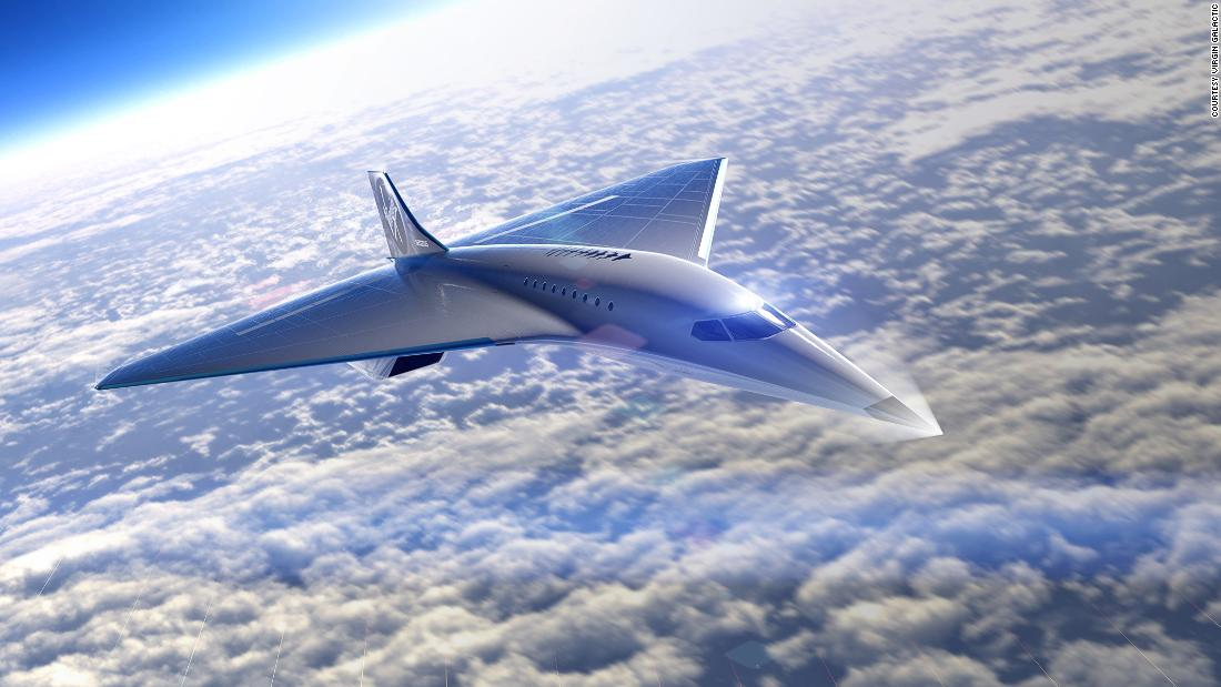 Virgin Galactic Reveals New Spacecraft Design for Space Travel