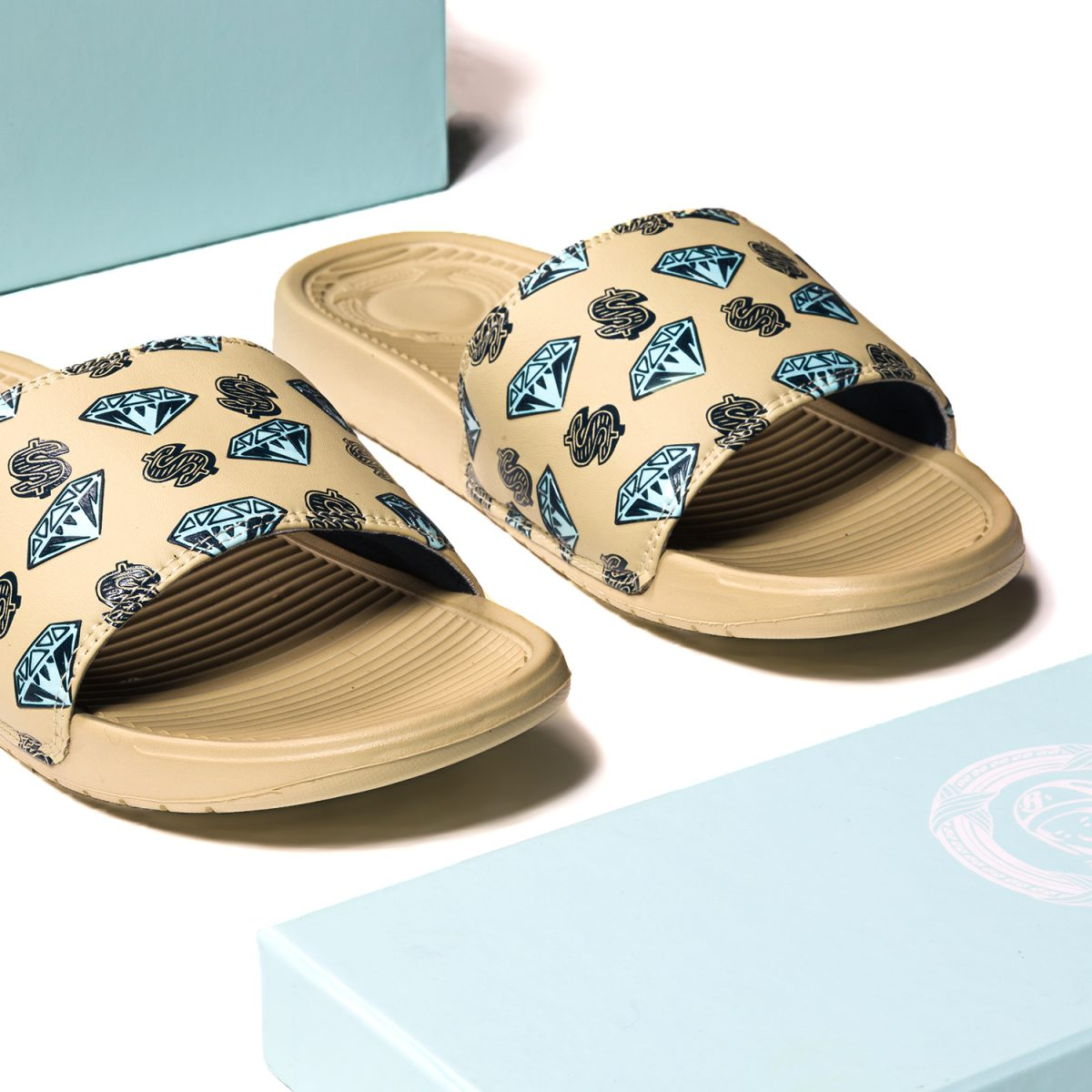 a0d4f37ba560a Limited quantities of the BBC ICECREAM x SANDALBOYZ slides will be  available at the BBC SoHo flagship (7 Mercer St.)