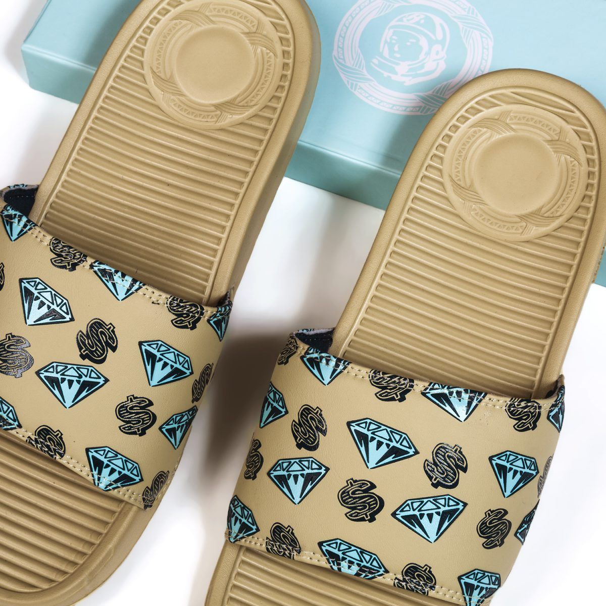 c98c6d42e Limited quantities of the BBC ICECREAM x SANDALBOYZ slides will be  available at the BBC SoHo flagship (7 Mercer St.)