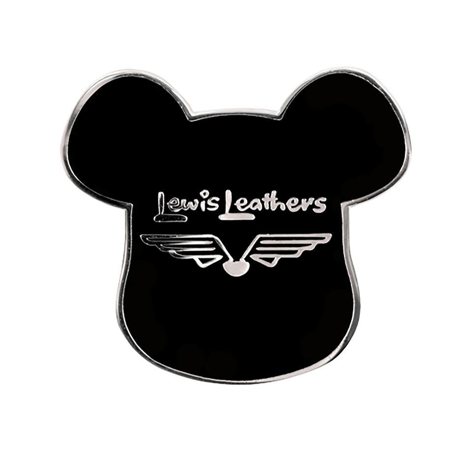 BE@RBRICK x LEWIS LEATHER PIN