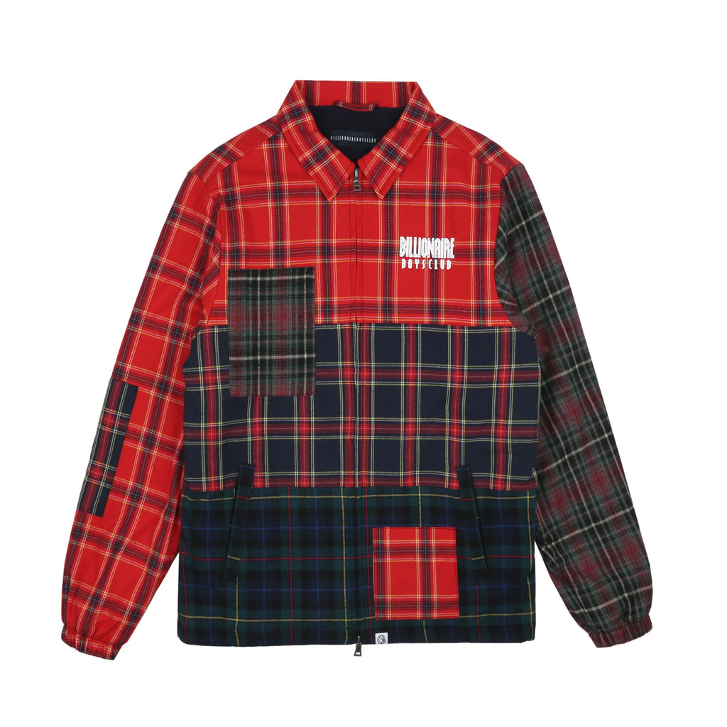 MULTI CHECK ZIP JACKET