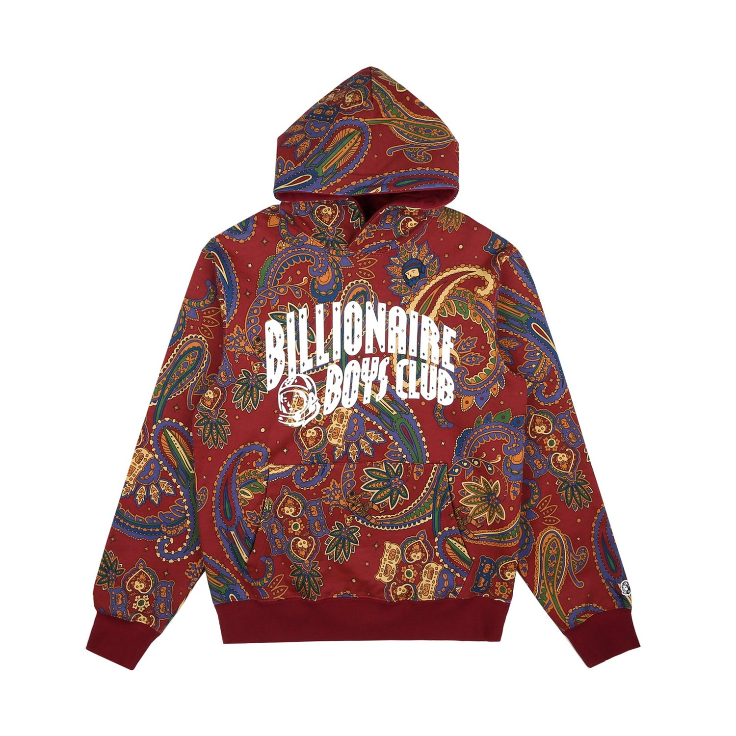 ALL OVER PRINT POPOVER HOOD