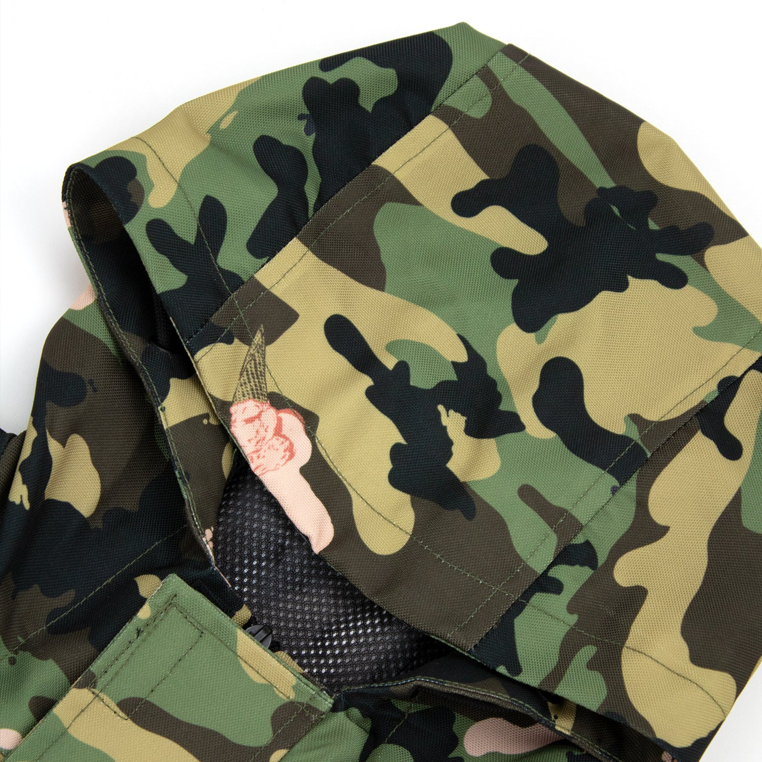 ICE CAMO PULLOVER JACKET