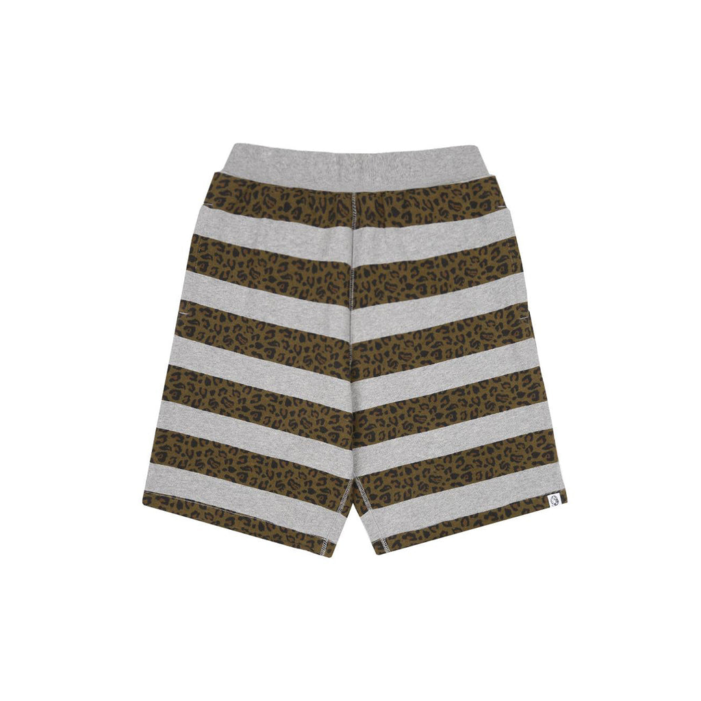 LEOPARD STRIPED SHORT