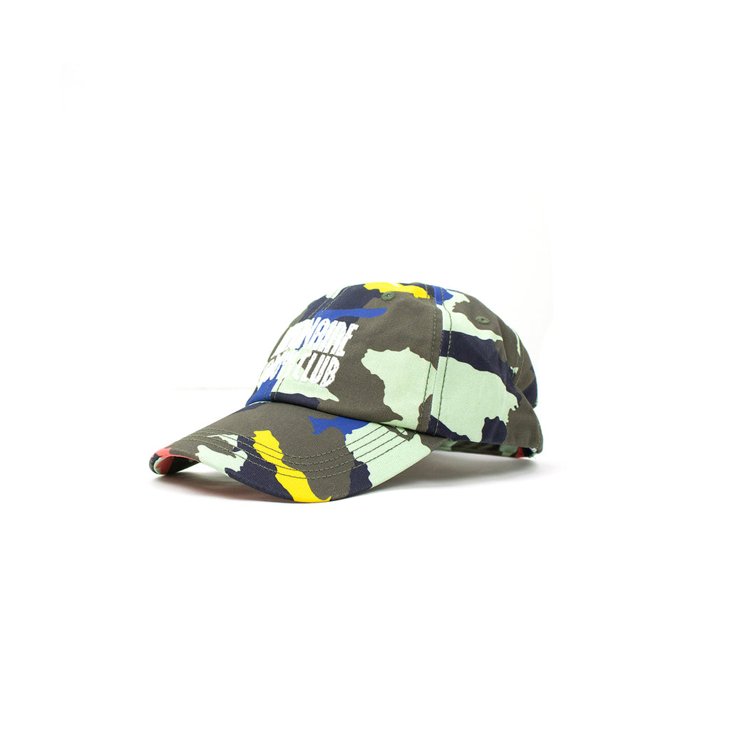 STRAIGHT CAMOUFLAGE CAP