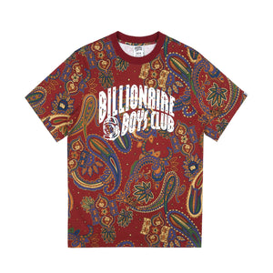 PAISLEY ALL OVER PRINT T-SHIRT