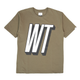 TIMES /T-SHIRT / OLIVE DRAB / S