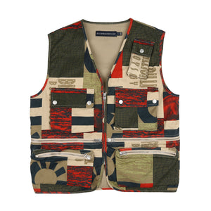 FRESH WATER PRINT COTTON VEST