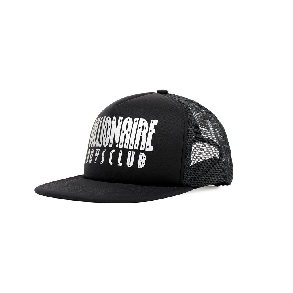 STRAIGHT LOGO TRUCKER CAP